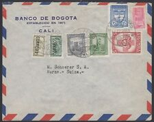 COLUMBIA, 1950. Air Cover, Bogota - Bern, Switzerland