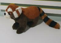 RED PANDA PLUSH TOY STUFFED ANIMAL 42CM LONG 18CM TALL