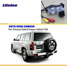 Car Backup Reverse Rear Parking Camera For Nissan Patrol Y61 4WD Super Safari