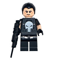 The Punisher - Marvel Universe Lego Dyi Minifigure Gift For Kids