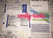 Oraquick Advance HIV-1/2 Rapid Antibody Test PRIVATE LISTING JAN 2019 Fast Ship!
