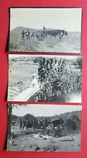 3 x Original Foto AK Deutsche Kolonien Südwest Afrika Typen Eingeborene  ( 35694