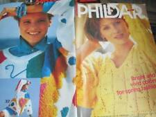 Phildar Knitting Book #127 -Spring Men/Women Designs -All 32 Designs Are Shown