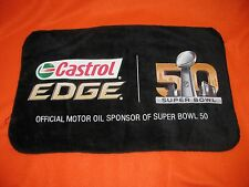 Rally Rag Towel NFL Super Bowl 50 Broncos Panthers by Castrol New