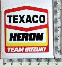 Texaco Heron Team Suzuki sticker      A17