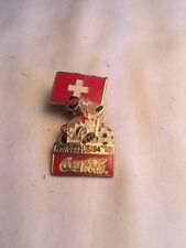 1994 World Cup USA 94 Coca Cola Soccer Pin (SWITZERLAND)
