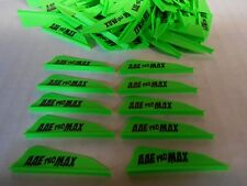 "100- AAE PRO Max Hunter 1.7"" BRITE GREEN Vanes! arizona archery arrow fletching"