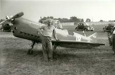 R-6 RIDER RACING AIRPLANE IN 1939  B&W 5 X 7 PHOTOGRAPHS -  GEORGE BYARS - PILOT