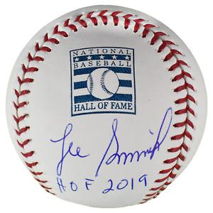 Lee Smith Signed Autographed ML Baseball Inscribed HOF 19 TRISTAR COA