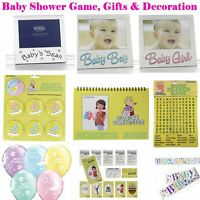 Baby Shower Fun Games Party Decorations Gifts Photo Frames Unisex Boy Girl Pack