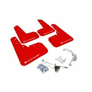 Rally Armor MF26-UR-RD/WH Red UR Mud Flap White Logo NEW
