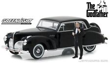 Greenlight 86552 Lincoln Continental 1941 the Godfather with Don Corleone 1/43