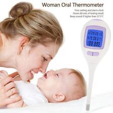 White Oral Thermometer Digital Women Fertility Basal Body Temperature P3I1