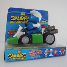 THE SMURFS LES SCHTROUMPFS SUPER SPEED PULL BACK RACING KART VEHICLE CAR KID TOY