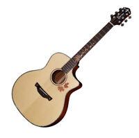 Crafter KAL-MAHO Premium Cutaway Dual Source EQ Grand Auditorium Acoustic Guitar