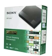 sony dvd player Bdp S3700 Streaming Blue Ray Disc Player With Wifi