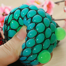 1PC Squishy Mesh Fruit Style Ball Finger Relax Kid Toy Squeezable Stress Relieve