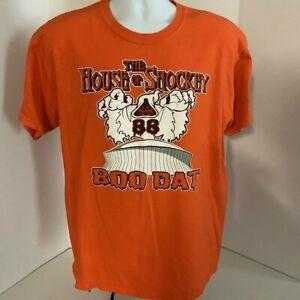 NFL Saints Jeremy Shockey 88 T-Shirt Large Halloween Orange