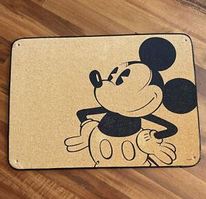 Vintage Mickey Mouse Disney Cork Pin Bulletin Board RARE