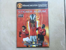 Manchester United Sticker Album Europe 2000 With Complete Set Of Stickers