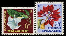 Malagasy: 1959 Flower Issue Common Design (#301-2)