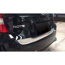 Fit For Nissan Note 2017 Chrome Rear Trunk Lid  Lift gate Cover Trim