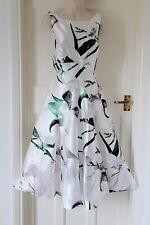 COAST FIT AND FLARE FLORAL DRESS UK 14 - WITH TAGS AS ONLY WORN AT FASHION SHOW