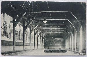 POSTKARTE Ypern Foto 1918 FELDPOST Etappen Hilfs-Bäckerei nach Taura Burgstädt