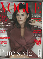 VOGUE Magazine (UK) October 2016 - Victoria Beckham