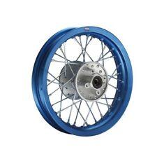 HMParts Pit Bike Dirt Bike Cross Alu-Felge Eloxiert 12 hinten Blau
