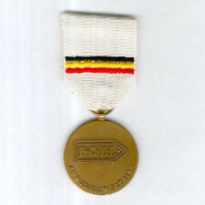 BELGIUM. Medal for the Belgian Army Recruiting Centres,1940, Flemish version