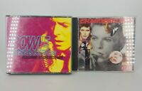 David Bowie CD Bundle of 2 The Singles 1969 to 1993 Changebowie Total of 3 Discs