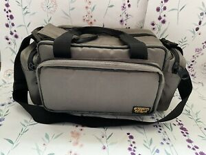 KAMKIT Large Padded Camera Bag with Shoulder Strap & Movable Partitions