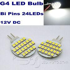 4x G4 LED Bulbs 24LEDs 3528 Replace 20W Halogen bulb Cool White wall light 12V
