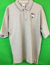 Warner Bros TAZ Real Swinger Gray Golf Shirt Large Collectable