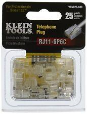 Klein VDV826-600 Modular Plug - RJ11, 25-Pack