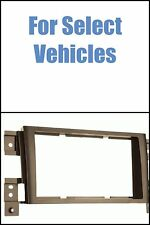 Taupe Color 06-12 Suzuki Grand Vitara Double Din Car Radio Install Dash Trim Kit
