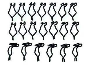 Edsel Mazda Ford Interior Inside Door & Quarter Panel Spring Clips Clip 20pc B