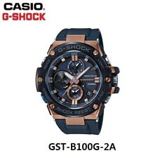 Casio G-Shock GST-B100G-2A Casual Military Army Quartz Sports Watch G-STEEL