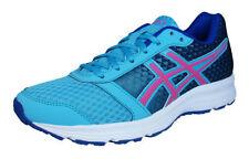 Scarpe sportive da donna lacci blu di gomma