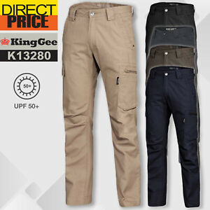King Gee Work Pants Canvas Multi-functional Pockets Cotton KingGee New K13280
