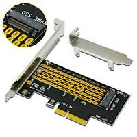 M.2 NGFF M-Key to Desktop PCIe x4 NVMe SSD Adapter Card 2242 2280 PCB Design!