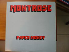 MONTROSE/ PAPER MONEY /LP JAPAN WB /VG++/VG++