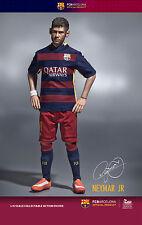 2016 New ZC World FC Barcelona Neymar Home Version 1/6 Scale Figure Soccer