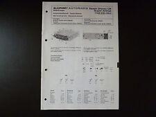 Original Service Manual Blaupunkt Autoradio Essen Stereo CR Super Arimat