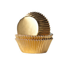 24 Muffinförmchen, gold