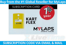 MyLaps Flex Subscription Renewal Card (1-year) for Kart