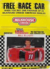NASCAR Bill Elliott #11 Race Car Collector's Card Milkhouse Cheese Promo  (549)