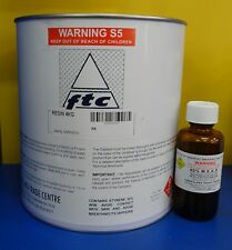 Fibreglass(Polyester) Resin and Hardener - 4Ltr