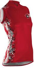 Cannondale Women's Burst Jersey ärmellostrikot 2f129 emp señora-camiseta Medium nuevo